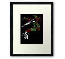 Shadow Raph Framed Print