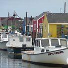 Portland, Maine Docks by clizzio
