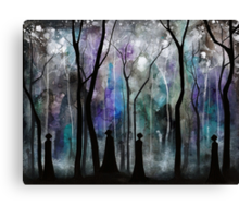 Haunted by Shadows Canvas Print