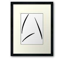 Captain Kirk Coffee Mug Framed Print