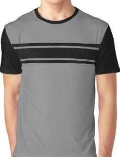 Retro Inspired Stripes Uni Sharkskin Fall 2016 Graphic T-Shirt