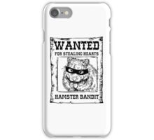 Hamster Bandit iPhone Case/Skin