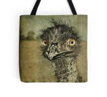 Mr Emu is a curious chap... Tote Bag