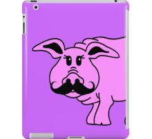 Hipster Pig iPad Case/Skin