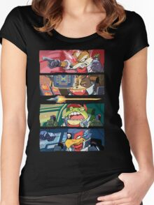 Star Muppets Fox Women's Fitted Scoop T-Shirt
