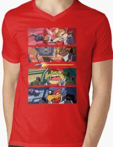 Star Muppets Fox Mens V-Neck T-Shirt