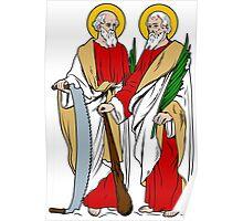 SAINTS SIMON AND JUDE   Poster