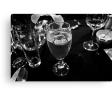 Beer glass Canvas Print