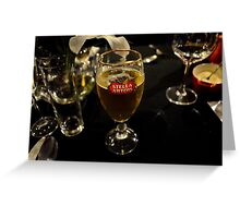 Beer glass Greeting Card