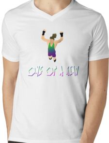 One of a KIND! | Rob Van Dam Mens V-Neck T-Shirt