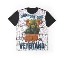 veterans support  Graphic T-Shirt