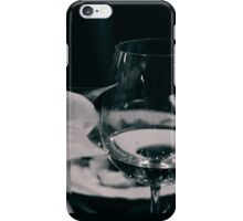 Fine glass and flower iPhone Case/Skin