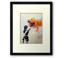 Under Attack Framed Print