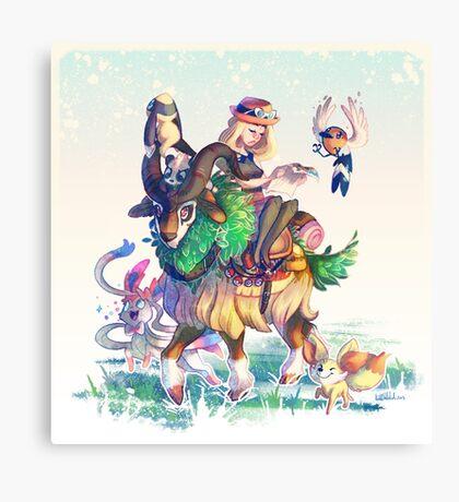 Pokemon X & Y - New Start Canvas Print