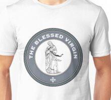 The Blessed Virgin Medallion.   Unisex T-Shirt