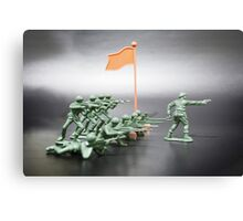 Plastic Soldiers Canvas Print