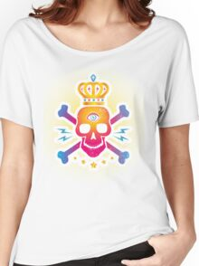 Skull with eye Women's Relaxed Fit T-Shirt