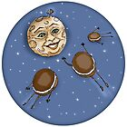 To The Moon, Pies! by Kim  Harris