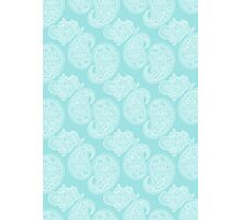 The Blue Paisley Photographic Print