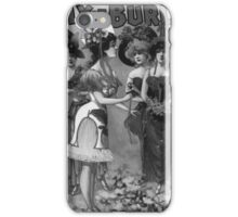 Performing Arts Posters Hurly Burly Extravaganza and Refined Vaudeville 2729 iPhone Case/Skin