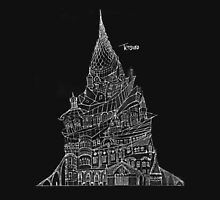 """Tetsuro Hoshii's Artistic Architectural Design Ceoncept """"The Way Up"""" Unisex T-Shirt"""