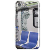 subway train in St. Petersburg iPhone Case/Skin