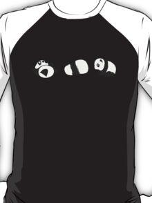 Tumbling Panda Bears (SET) T-Shirt