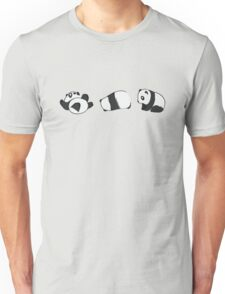 Tumbling Panda Bears (SET) Unisex T-Shirt