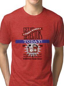 The Timey-Wimey Detector Tri-blend T-Shirt