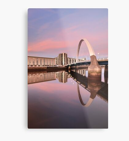 Sunset over the Clyde Metal Print