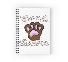 Cool (Toe) Beans Spiral Notebook