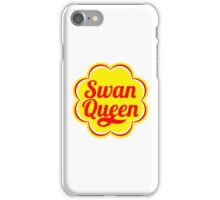 Swan Queen - Chupa Chups Logo iPhone Case/Skin