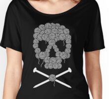 KNITTERS sugar skull Women's Relaxed Fit T-Shirt