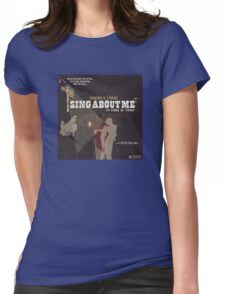 kendrick lamar sing aboute me Womens Fitted T-Shirt