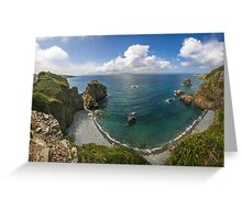 Cliff View, Sark Island Greeting Card