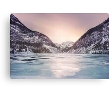 Frozen By The Sun Canvas Print