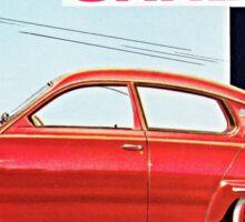 Saab 96 Vintage Classic Sweden Sticker