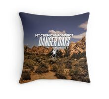 Danger Days Throw Pillow