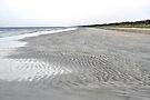 Ripples in the sand - Long Beach in the Coorong by Ian Berry