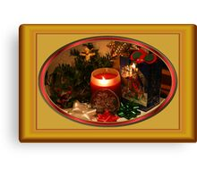 Getting Ready for Christmas... Canvas Print