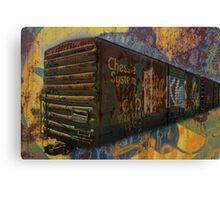 Rusty Chessie Canvas Print