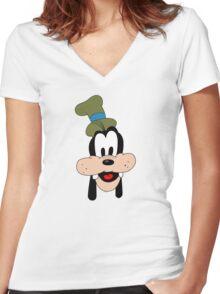 Goofy! Women's Fitted V-Neck T-Shirt