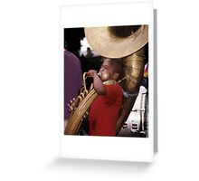 Musician: New Orleans Greeting Card