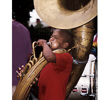 Musician: New Orleans Photographic Print