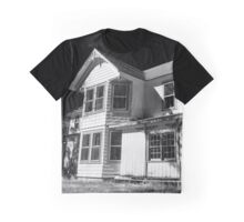 Abandoned House | East Moriches, New York Graphic T-Shirt