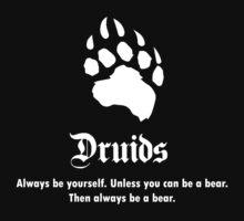 Druids Slogan Kids Tee