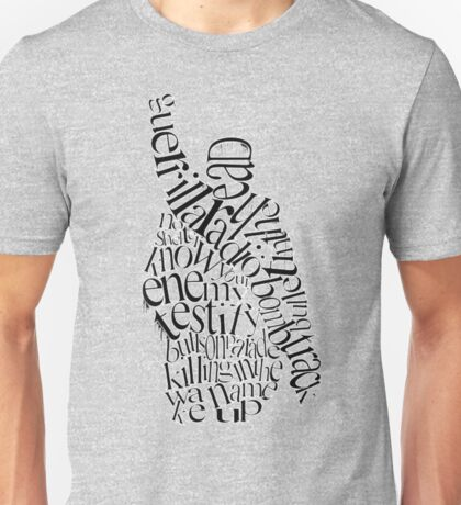 The Battle Of The Songs Unisex T-Shirt
