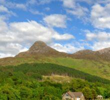 The Pap of Glencoe, Scotland Sticker