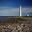 Lighthouse at Point Lowly by Dennis Wetherley