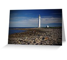 Lighthouse at Point Lowly Greeting Card